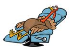 Resting Turkey