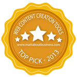 Web Content Creation Tools - Top Picks for 2013