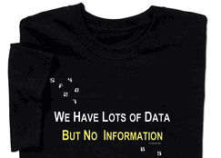 We Have Lots of Data But No Information