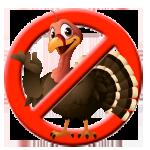 No Turkeys